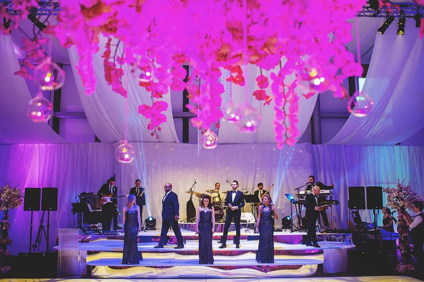 Qube Events Chandeliers
