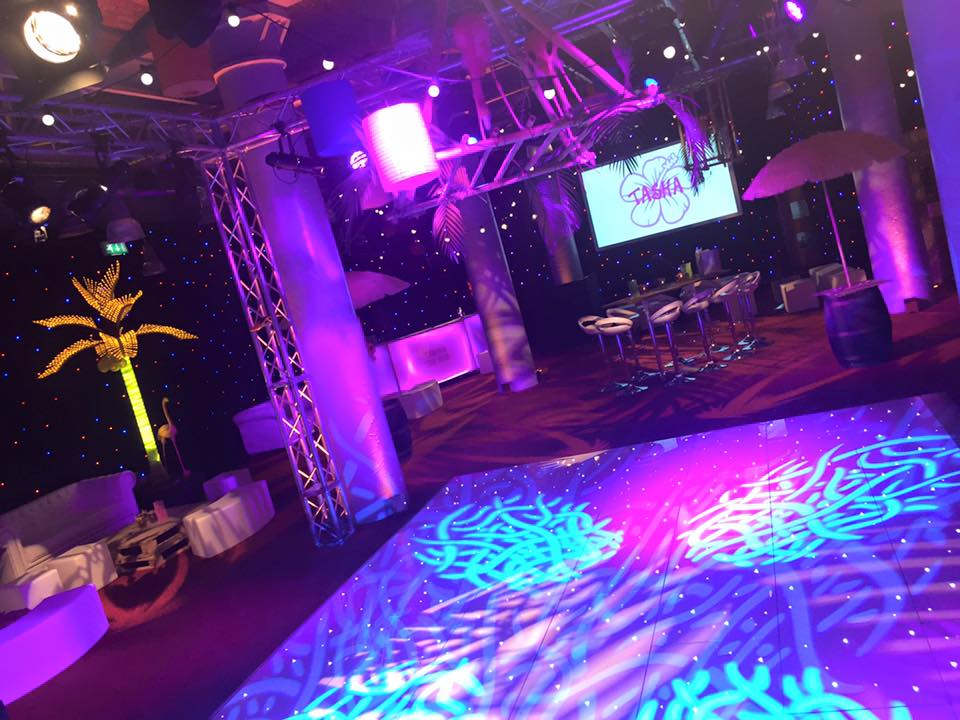 Qube Events Light Event Production