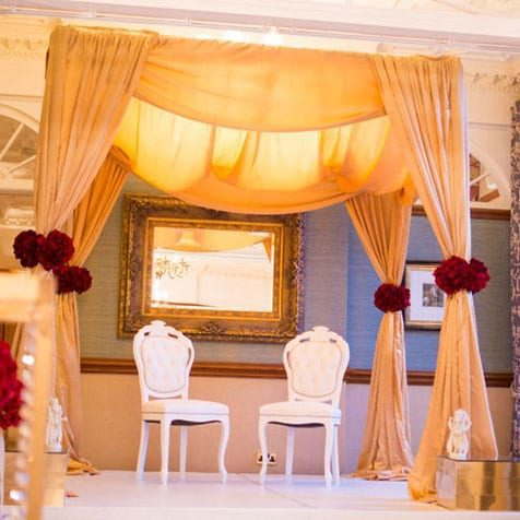 Asian Wedding mandap2